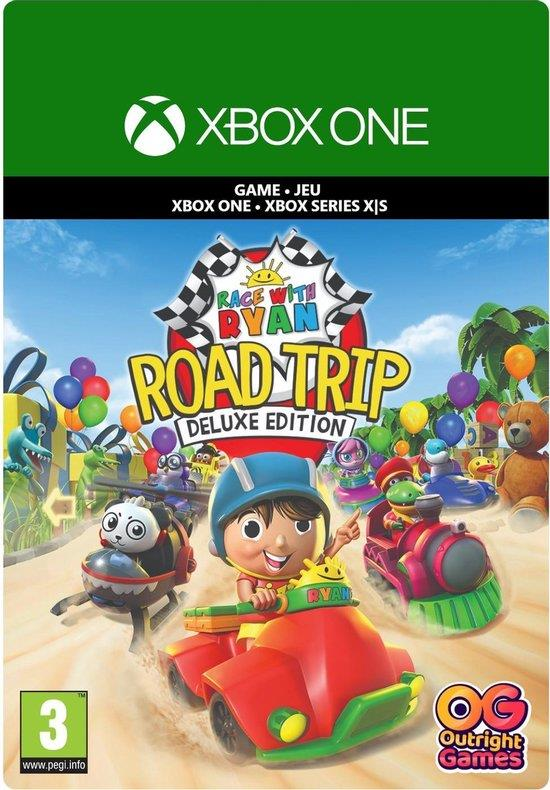 Race With Ryan Road Trip (Deluxe Edition + Digitaal Code) Xbox One / Series X   S