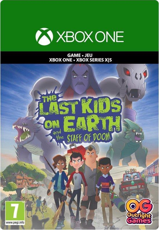 The Last Kids On Earth And The Staff Of Doom (Digitaal Code) Xbox One / Series X   S