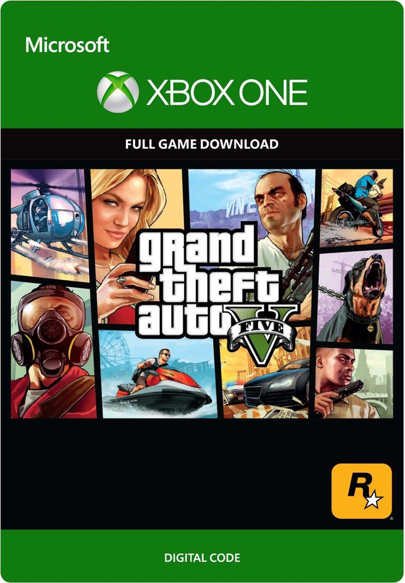 Grand Theft Auto 5 (V) (Digitaal Code) Xbox One / Series X