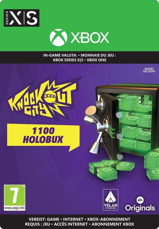 Knockout City 1.100 Holobux - In-game Tegoed (Digitaal Code) Xbox One / Series X | S