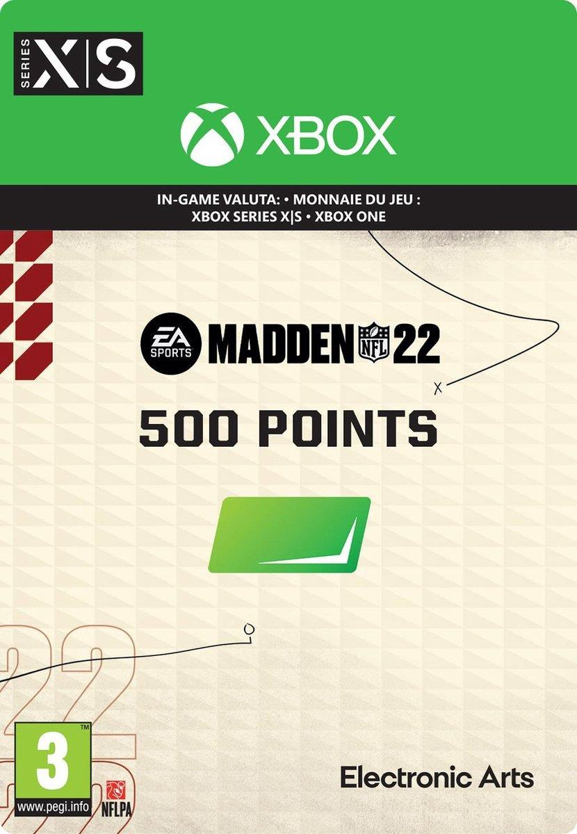 Madden NFL 22 - 500 Madden Points Pack (Download) Xbox One / Series X|S