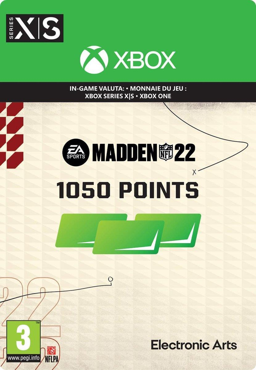 Madden NFL 22 - 1.050 Madden Points Pack (Download) Xbox One / Series X|S