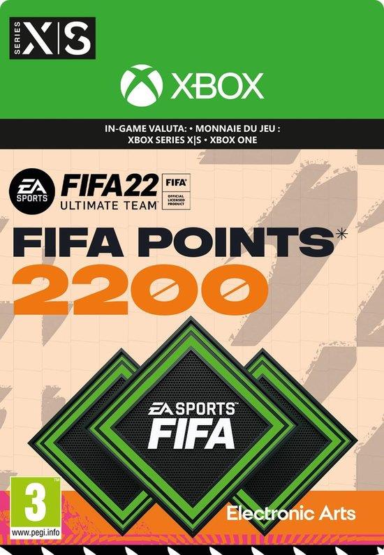Fifa 22 - 2.200 Fifa Points (Download) Xbox One / Series X | S
