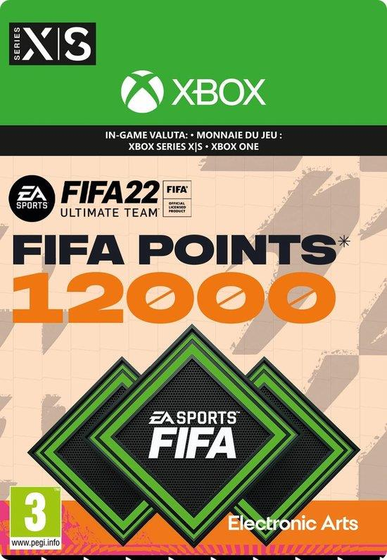Fifa 22 - 12.000 Fifa Points (Download) Xbox One / Series X | S