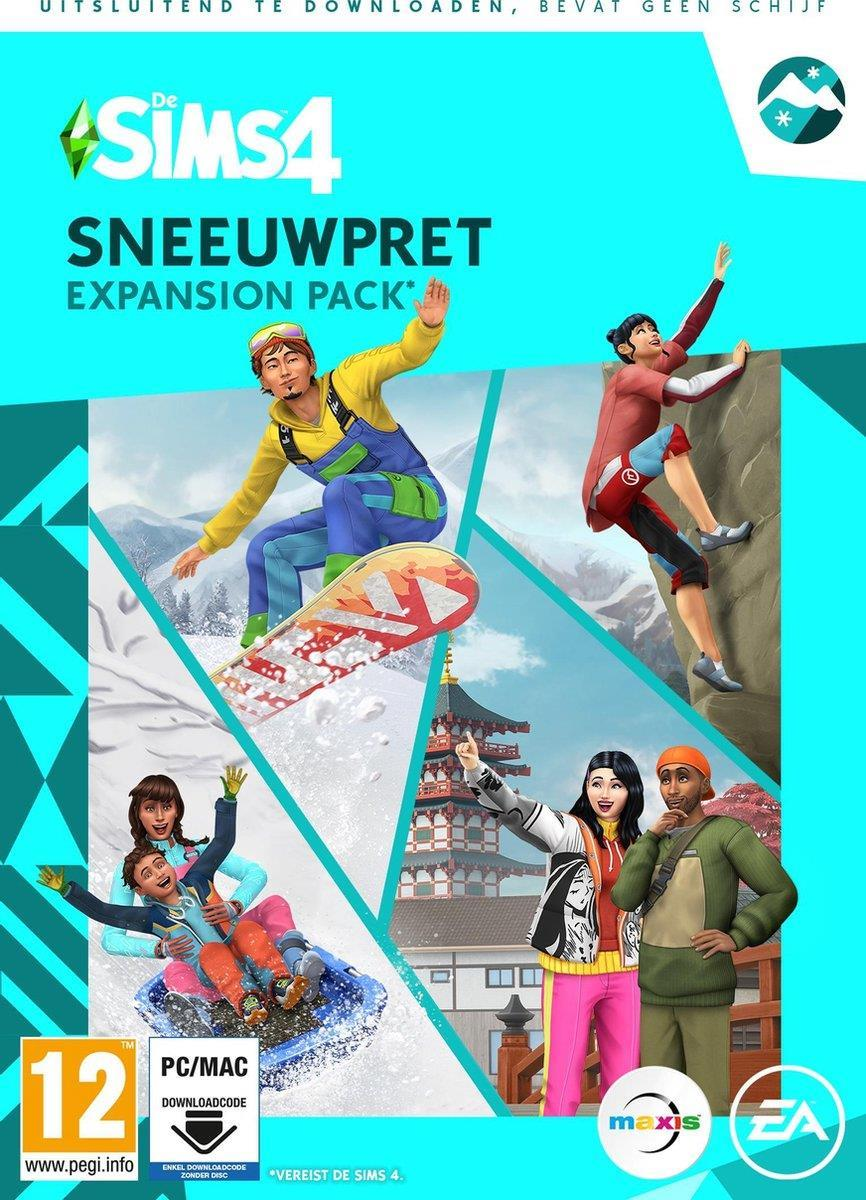 De Sims 4 - Sneeuwpret - Expansion Pack (Add-On) (Code in a Box) PC / MAC