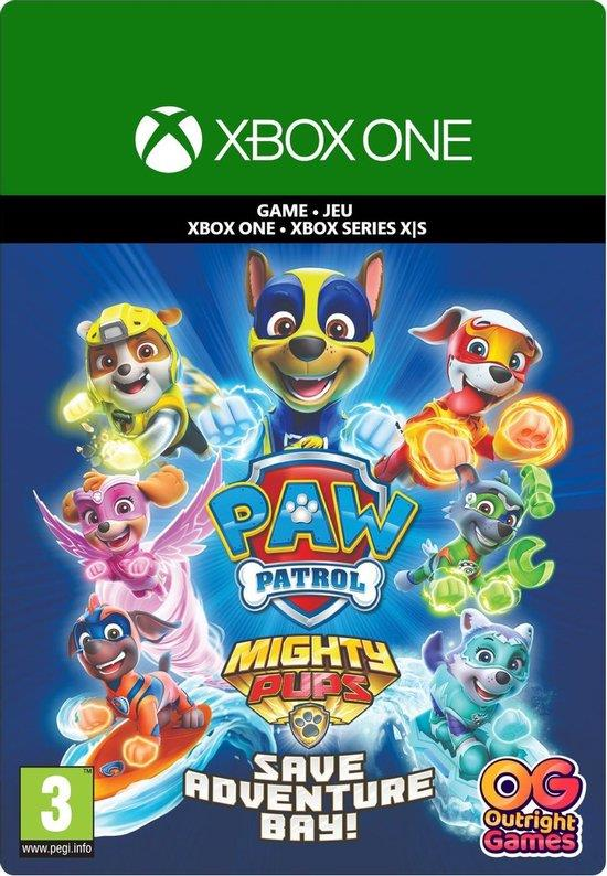 Paw Patrol Mighty Pups Save Adventure Bay (Download Code) Xbox One / Series X   S