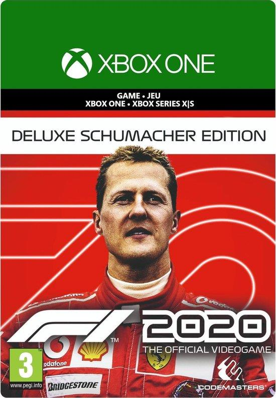 F1 2020 (Deluxe Schumacher Edition - Download Code) Xbox One / Series X   S