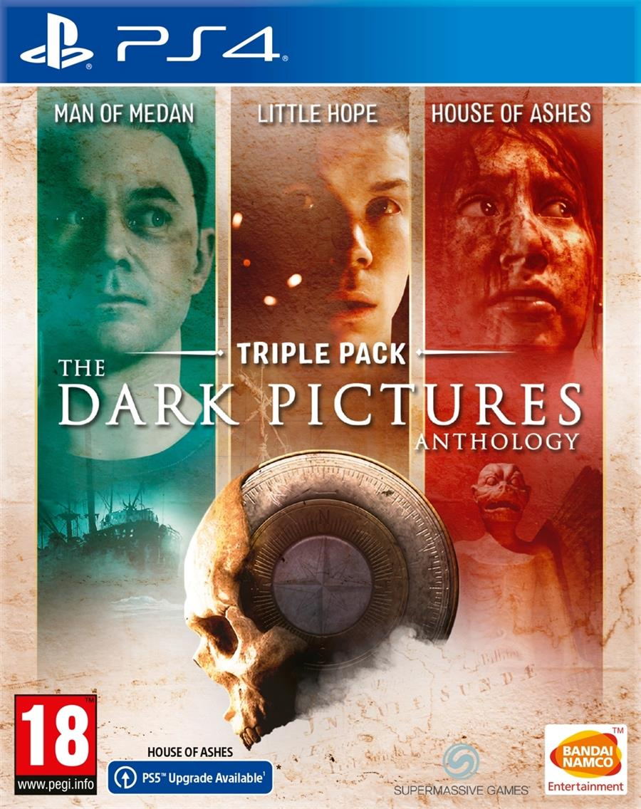 The Dark Pictures Anthology Triple Pack Playstation 4