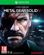 Metal Gear Solid 5 (V) Ground Zeroes Xbox One