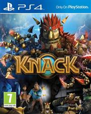 Knack PlayStation 4