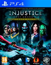 Injustice Gods Among Us Ultimate Edition PlayStation 4