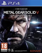 Metal Gear Solid 5 (V) Ground Zeroes PlayStation 4
