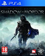 Middle-Earth Shadow of Mordor PlayStation 4