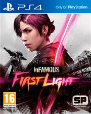 Infamous First Light PlayStation 4