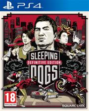 Sleeping Dogs Definitive Edition PlayStation 4