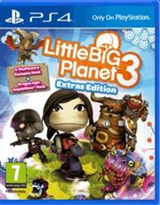 Little Big Planet 3 Day One Extras Edition PlayStation 4