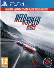 Need for Speed Rivals Limited Edition PlayStation 4