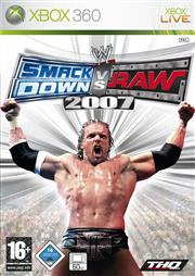 WWE SmackDown vs. Raw 2007 Xbox 360