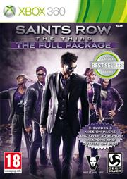Saints Row The Third The Full Package Xbox 360