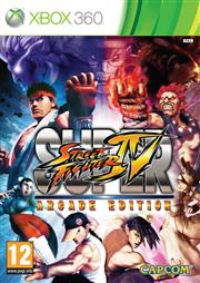 Super Street Fighter 4 (IV) Arcade Edition Xbox 360