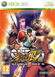 Super Street Fighter 4 (IV) Xbox 360
