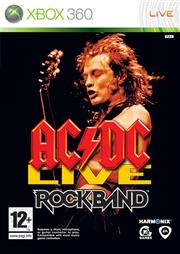 AC/DC Live Rock Band Xbox 360
