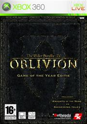 The Elder Scrolls 4 (IV) Oblivion Game of the Year Edition Xbox 360