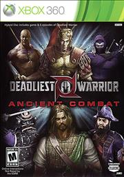 Deadliest Warrior Ancient Combat Xbox 360