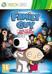 Family Guy Back to the Multiverse Xbox 360
