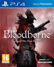 Bloodborne Game of the Year Edition PlayStation 4