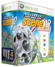 Scene It Light, Camera, Action! + 4 Buzzers Xbox 360