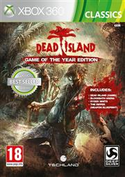 Dead Island Game of the Year Edition Xbox 360