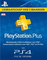 PSN PlayStation Plus Card 90 Dagen NL