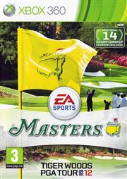 Tiger Woods PGA Tour 12 The Masters Xbox 360