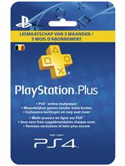 PSN PlayStation Plus Card 90 Dagen BE