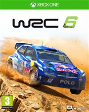 WRC FIA World Rally Championship 6 Xbox One