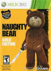 Naughty Bear Gold Edition Xbox 360