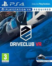 Driveclub PlayStation 4 VR