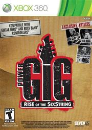 Power Gig Rise of the SixString Xbox 360