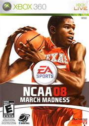 NCAA March Madness 08 Xbox 360