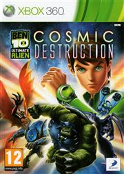Ben 10 Ultimate Alien Cosmic Destruction Xbox 360