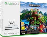 Microsoft Xbox One S Console Wit (500 GB) + Minecraft