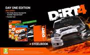 Dirt 4 (Steelbook Preorder Edition) Xbox One