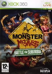 Monster Madness Battle for Suburbia Xbox 360