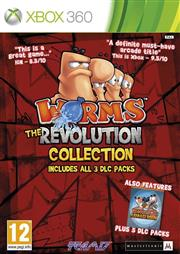 Worms the Revolution Collection Xbox 360