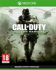 Call of Duty Modern Warfare Remastered Xbox One