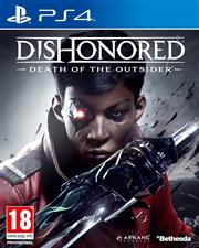 Dishonored Death of the Outsider Playstation 4