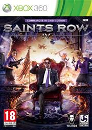Saints Row 4 (IV) Xbox 360