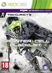 Tom Clancy's Splinter Cell Blacklist Xbox 360