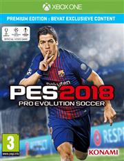 Pro Evolution Soccer (PES) 2018 (Premium Edition) Xbox One